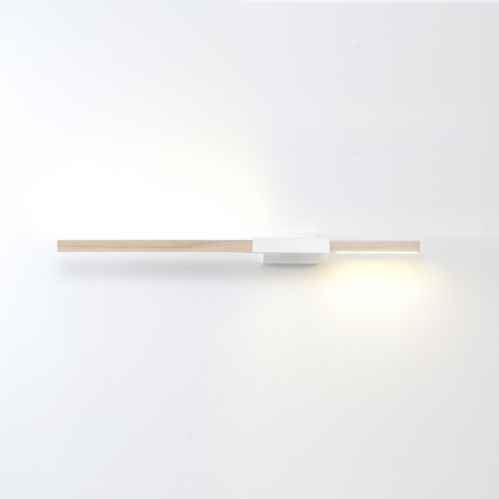 3ft Horizontal Asymmetrical Sconce
